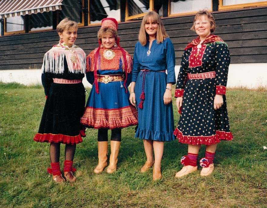 Bilde av Liv Østmo, Berit Karen Hætta, Torunn Pettersen og Ruth Hætta