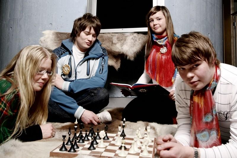 Studeantan Sámi allaskuvllas / student ved samisk høgskole