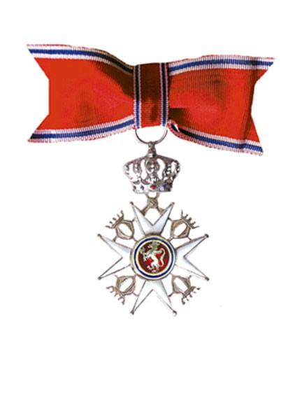 Bilde av riddermerke.