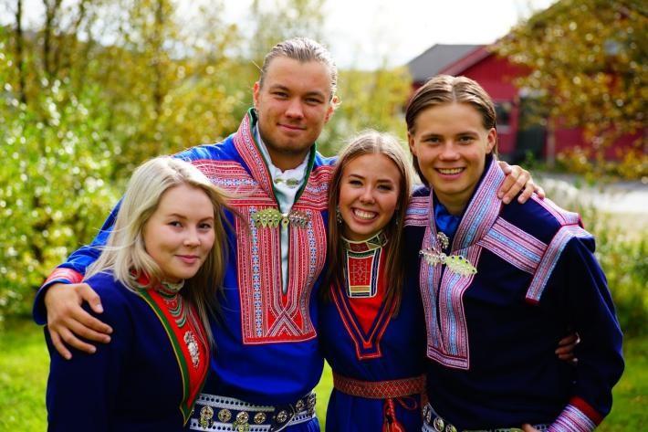 Bilde av de samiske veivisere for 2015 / 2016