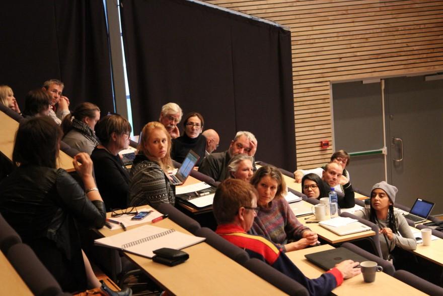 Deltagere på Inclusive Journalism seminaret på Samisk høgskole