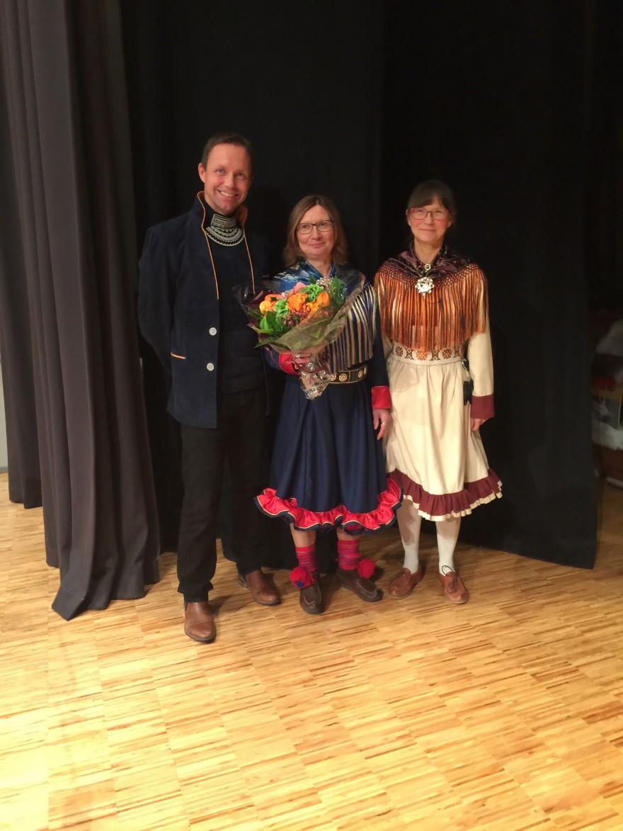 Bilde av Johan Strömgren, Solveig Joks og Gunvor Guttorm