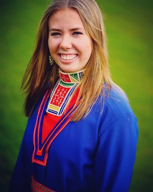 Portrett av samisk veiviser Oda