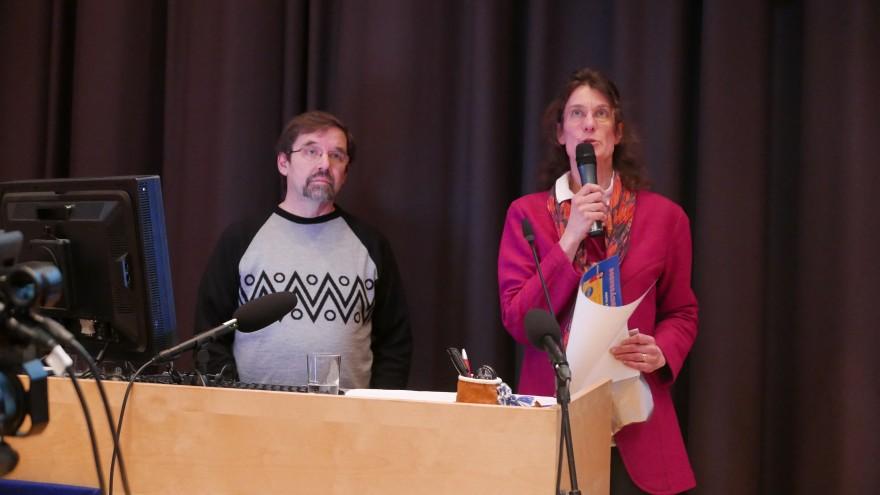 Bilde av Eilif Norvang og Inker-Anni Linkola