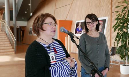 Bilde av Pigga Keskitalo og Seija Risten Somby