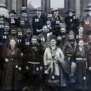 Bilde av gammel bilde deltakere i Trondheim 1917.