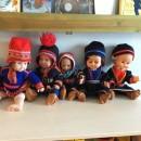 Bilde av samiske dukker