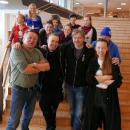 Bilde av blandt andre Heaika Hætta, Ailo Valle, Roger Ludvigsen og Sofia Jannok.