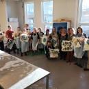 Studenter og lærer for Samisk i praktiske situasjoner