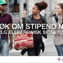 Reklame fra Lånekassen.