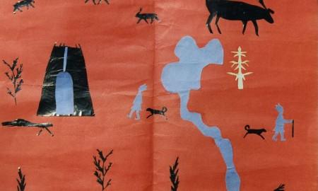 Bilde av barnetegning fotografert av Alan Borvo