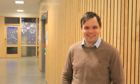 Bilde av direktør Johan Ailo Kalstad.