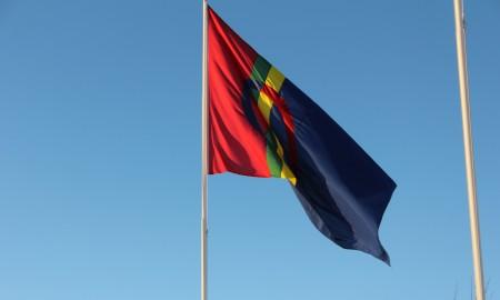 Bilde av samisk flagg